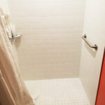 Accessible Roll-In Bathroom Shower
