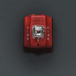 Visual, Flashing Strobe Fire Alarm