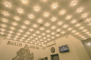 Bklyn House Lobby Ceiling Lights Feature