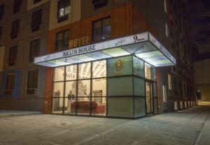 Bklyn House Exterior At Night