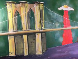 Brooklyn Bridge Mural